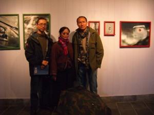 罗菲、雷燕和毛旭辉,2007年